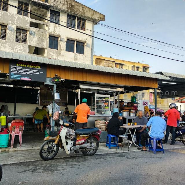 warung roti canai gemas road, tempat sarapan pagi sedap di penang, roti canai best di penang,