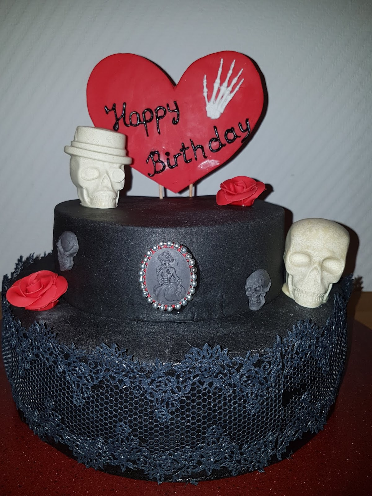 Sandy S Kitchendreams Gothic Kuchen