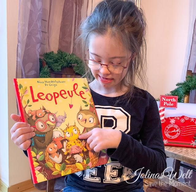 Leopeule Kinderbuch mit Inklusion