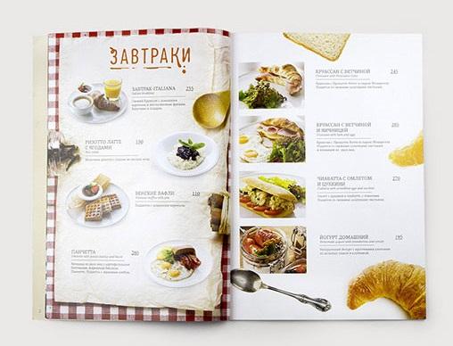 Các mẫu menu nhà hàng đẹp và sang trọng