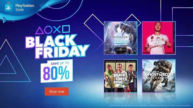 black friday discount playstation store