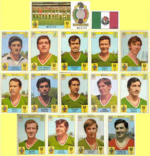 Mexico football stickers