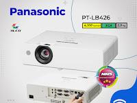 LCD Projector Panasonic PT‐LB426, 4100 lumens, XGA (1024 x 768)