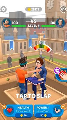 تحميل لعبة  Slap Kings APK النسخة المهكرة للاجهزة الاندرويد باخر تحديث مجانا