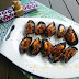Mejillones con jamón ibérico
