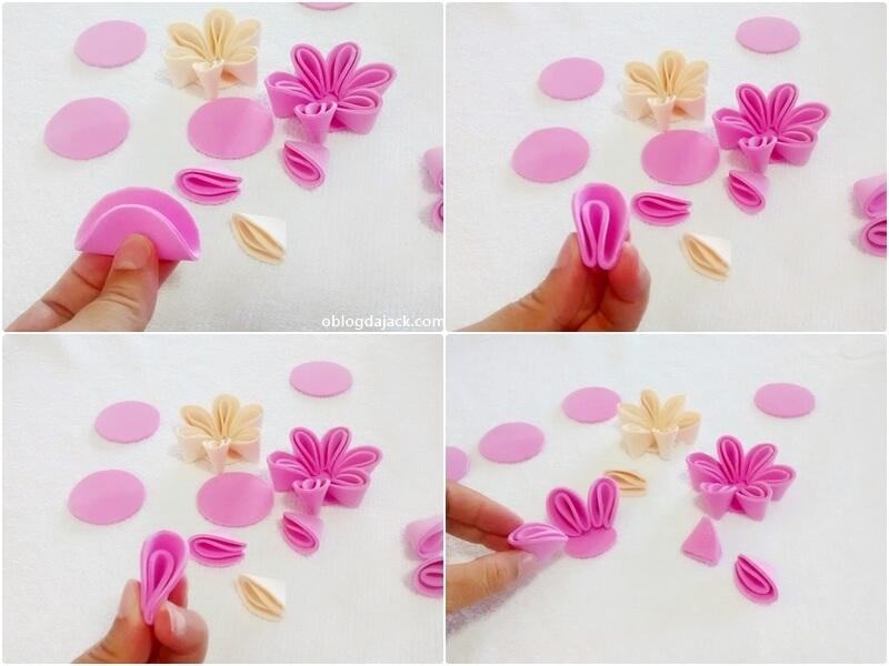 Linda flor em eva para sua decoração realmente fácil