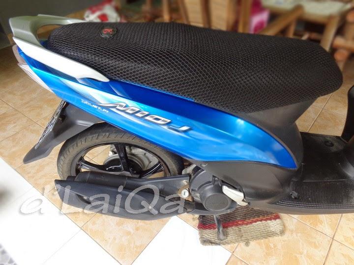Yamaha Mio J (setelah pemasangan pelapis jok)