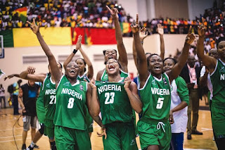Buhari rewards winning female basketball players