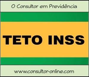 Valor Teto para Benefício do INSS em 2018.