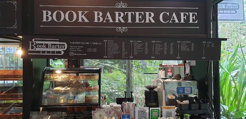 Makan Sambil Membaca di Book Barter Café, Tamarind Square, Cyberjaya