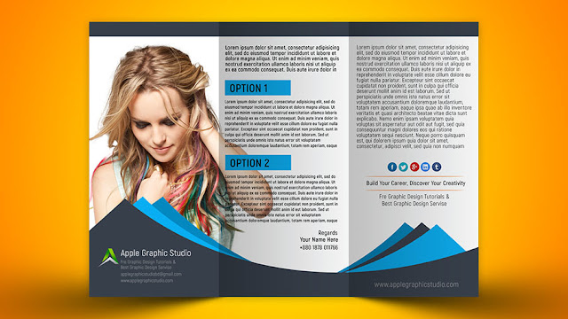 How to design tri fold brochure photoshop cc 2018 for How to design a brochure in photoshop