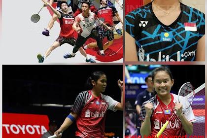 Hasil pertandingan Daihatsu Indonesia Masters 2020, Wakil tunggal putri habis