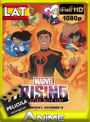 Marvel Rising: Playing with Fire (2019) HD 1080p Latino [Google Drive] BerlinHD