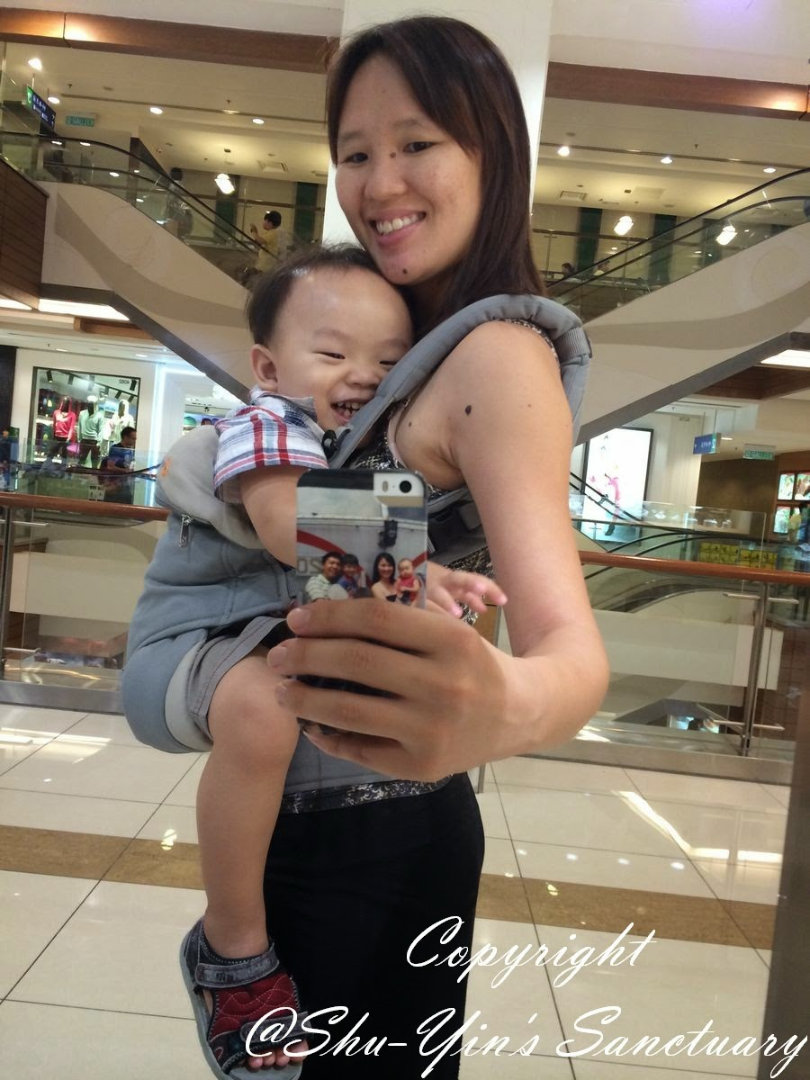 Shu Yins Sanctuary Review Ergobaby 360 Baby Carrier