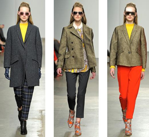 4d7daea0a05 Reworking her signature tomboyish aesthetic with bold colour-blocking and  interesting prints