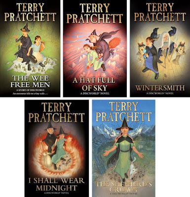 Discworld - The Tiffany Aching series by Terry Pratchett