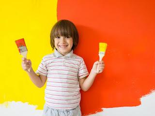 Pertimbangan memilih cat kamar anak