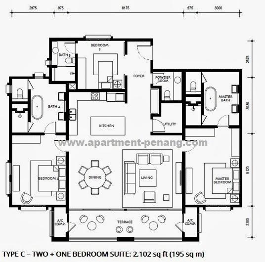 1 Tanjung Penang Floor Plan One Tanjong Penang 1 Tanjong