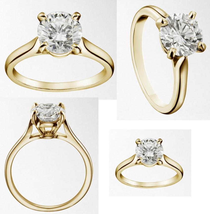 Aaron Loves Micah Our Engagement Ring from Diamond Fire Specs