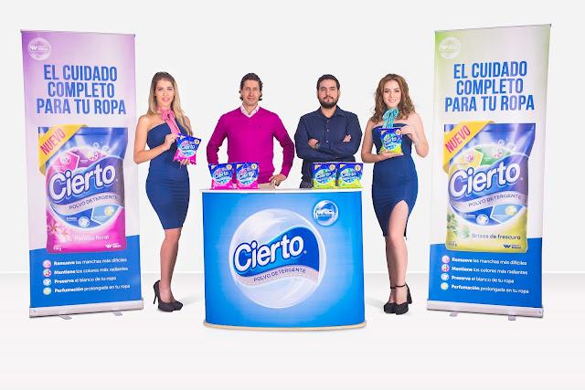 Jabonería Wilson presenta su nuevo Detergente Cierto Polvo