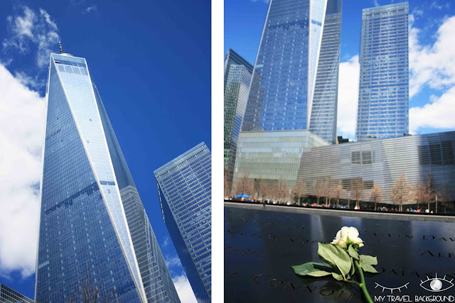 My Travel Background : quartier du World Trade Center et le mémorial du 11 septembre 2001, New York