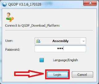 Cara Flashing Menggunakan QGDP Tool
