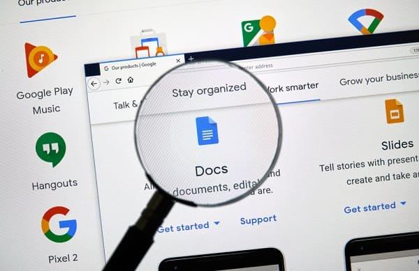 كيفية تغيير لون الصفحة في مستندات جوجل