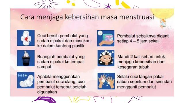 bersih dan sehat saat menstruasi