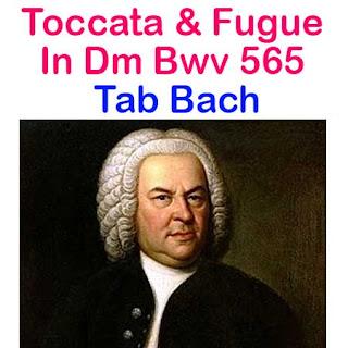 Bach, Johann Sebastian - Toccata et Fugue en Ré Mineur Tabs Sheet