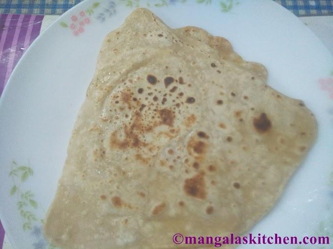 Folded Paratha | Triangle Chapathi | Soft layered Chapathi