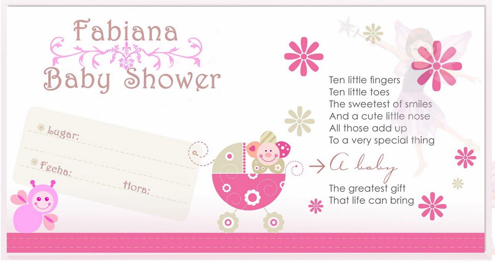 Diseños De Tarjetas Invitación Baby Shower Imagui