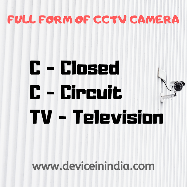 Full Form Of CCTV and Types Of CCTV Cameras, cctv full form, full form of camera