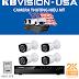 Trọn bộ 04 camera KBVISION KX-2K11CP – 4.0MP