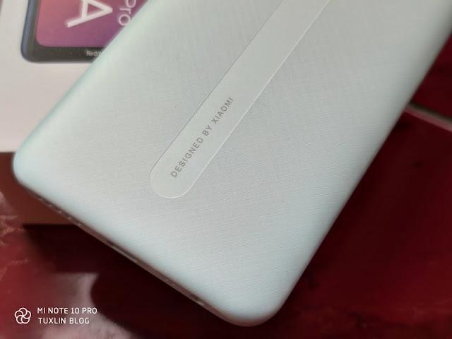 Desain Xiaomi Redmi 8A Pro