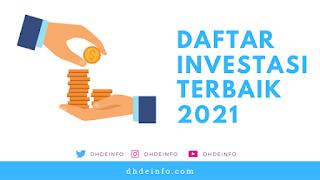 Daftar 7 Investasi Terbaik 2021