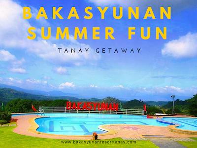 Bakasyunan Summer Fun: Your Tanay Getaway