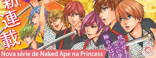Nova série de Naked Ape na Princess
