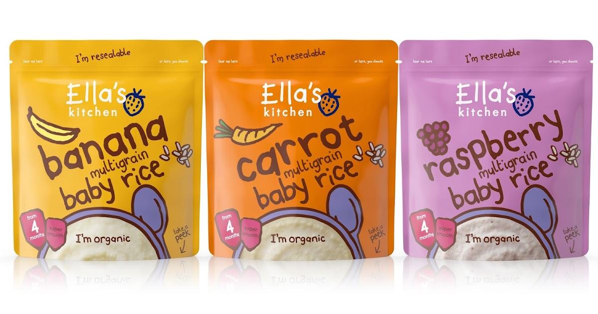 Ella S Kitchen Baby Cereal