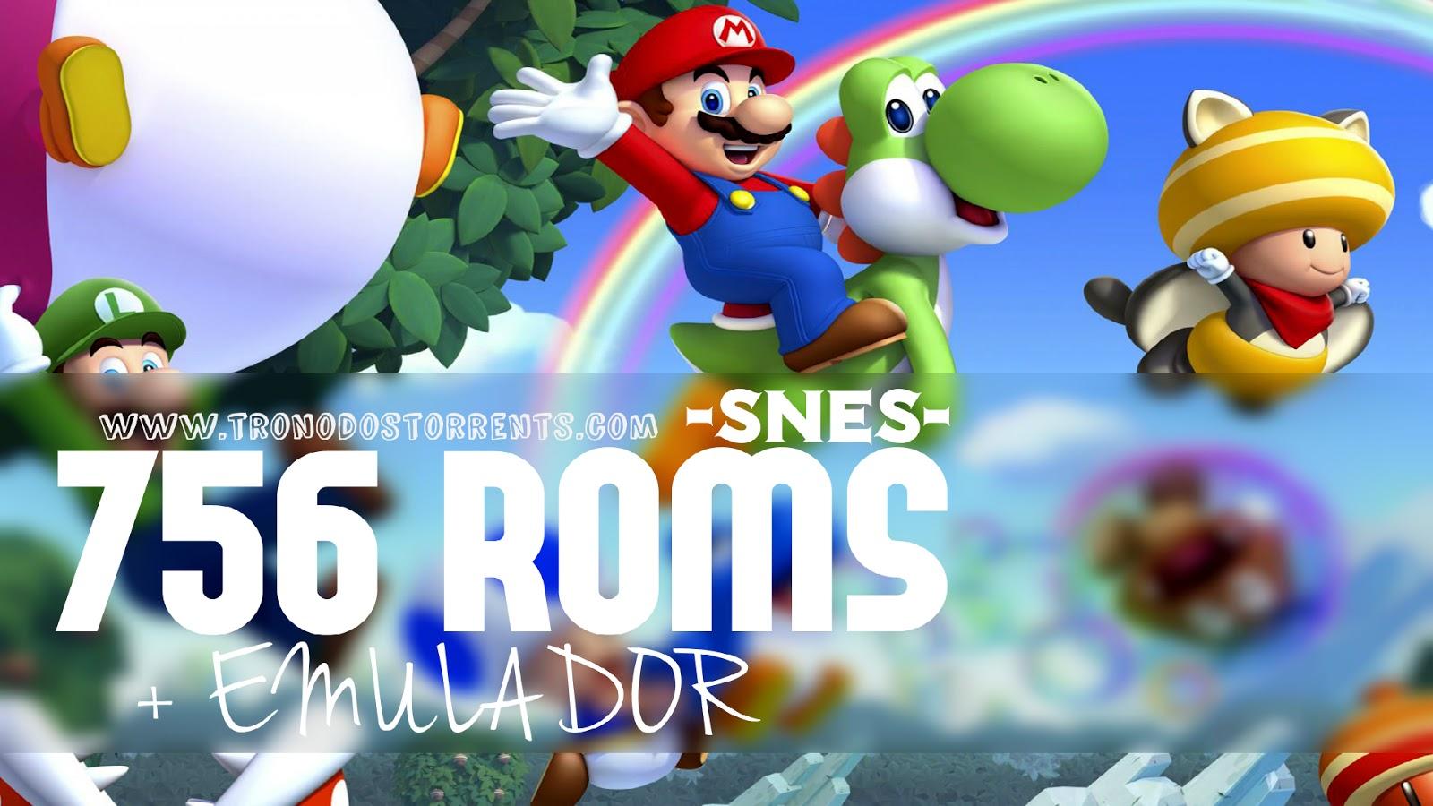 jogos para emulador snes9x-download