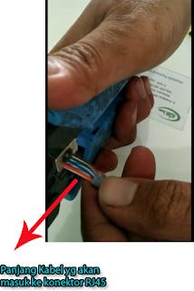 Pemotongan Kabel UTP