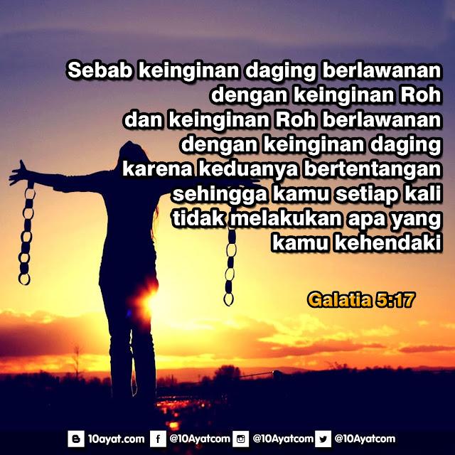 Galatia 5:17