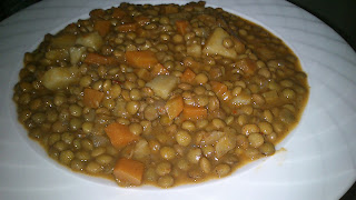 Green Lentil Dish (Yesil Mercimek Yemegi)