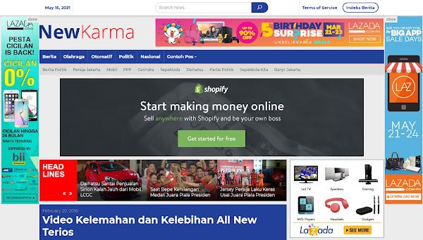 Newkarma Special Magazine News Wordpress Theme