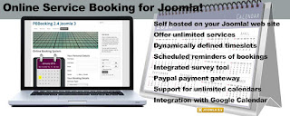 PBBooking - Online Service Booking for Joomla