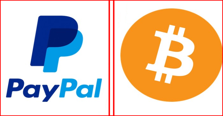 Cryptocurrency Transactions, Sales & shopping Now Using PayPal