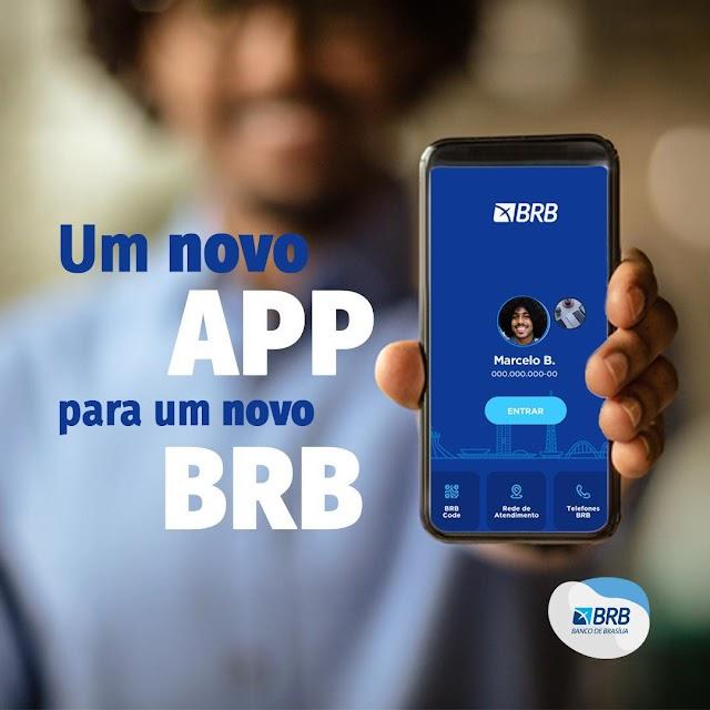 Já está disponível a nova versão do BRB Mobile