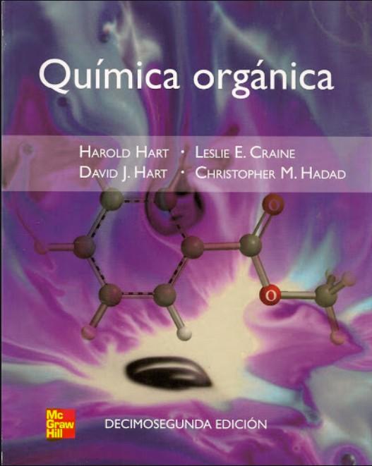 Química Orgánica Hart, Craine, Hart, Hadad  en pdf