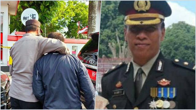 Sosok Kompol Hari Sutrisno, Tangkap Pria Bentangkan Poster, Jabat Kabag Ops Polres Kediri