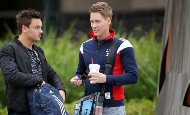 Tom Daley su novio Dustin Lance Black
