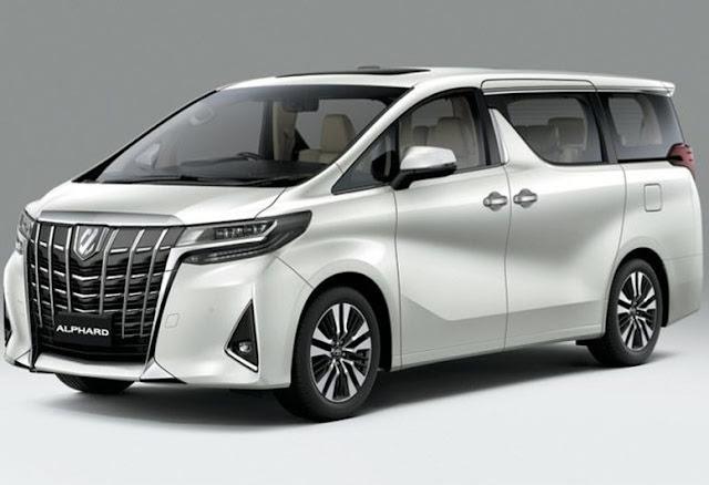 Toyota Alphard, Seri Mewah Mobil MPV